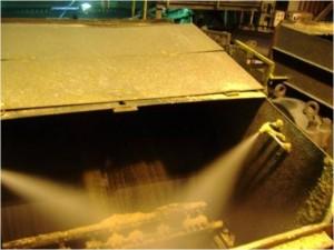 System ograniczenia pylenia Telesto na przesypie